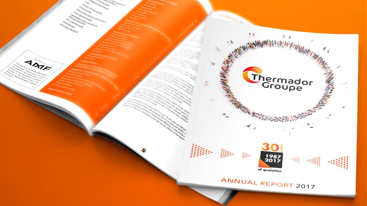 Rapport Annuel 2017 de Thermador Groupe