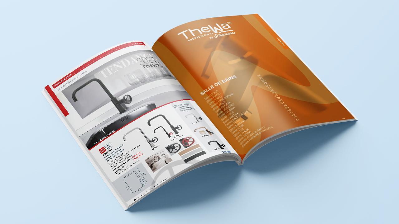 Catalogue 2021 ouvert de Thewa
