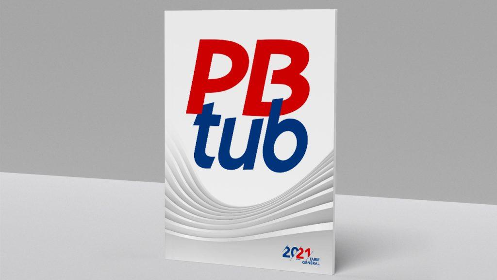 Couverture du catalogue 2021 de Pbtub