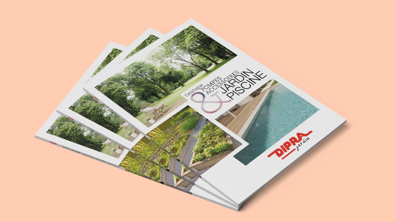 Couverture du catalogue jardin 2020 de Dipra