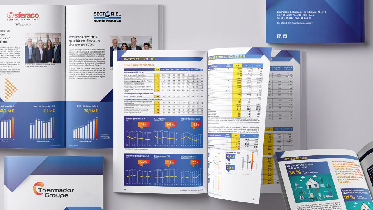 Rapport Annuel 2018 de Thermador Groupe
