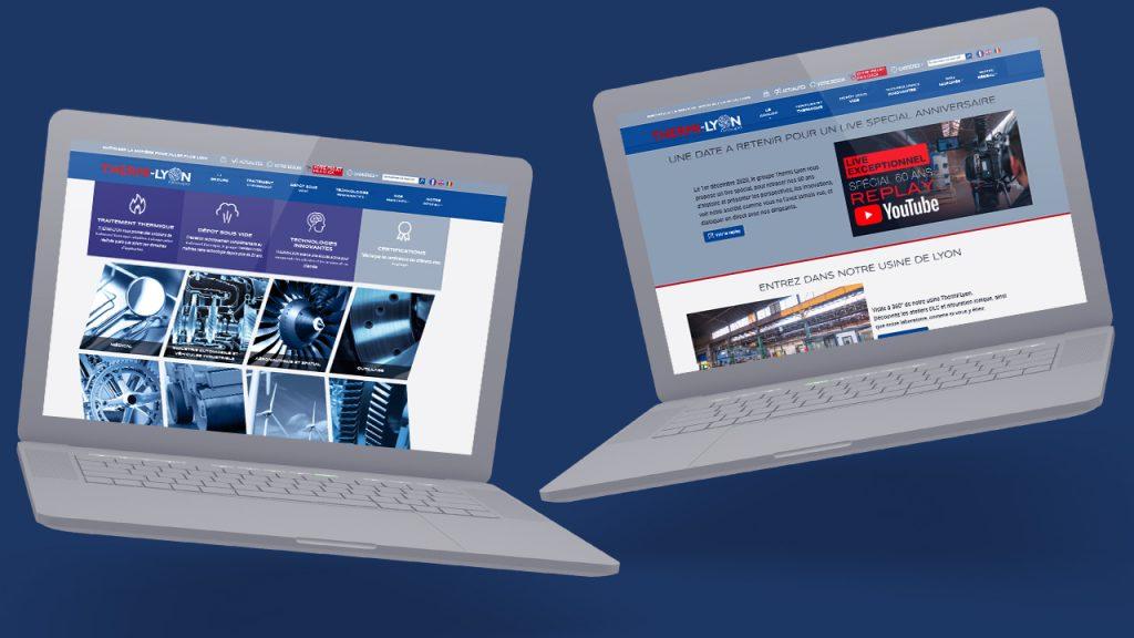 Site internet de Thermi-lyon