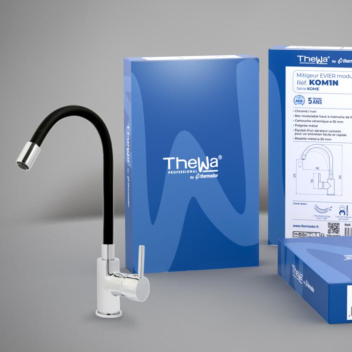 Packaging des produits Thewa